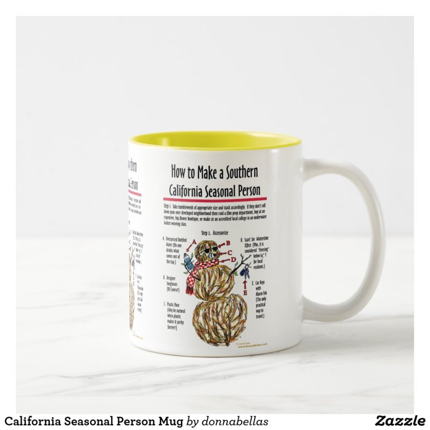 California Seasonal Person Mug