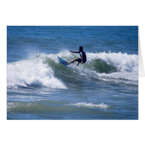 California Surfer Greeting Card