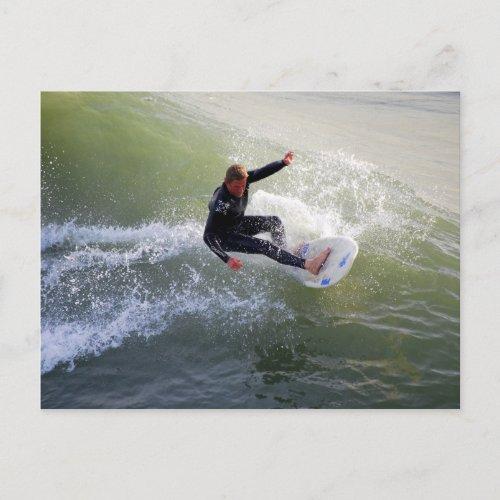 California Surfer Postcard postcard