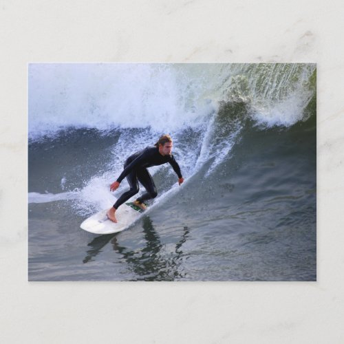 California Surfer Postcard postcard