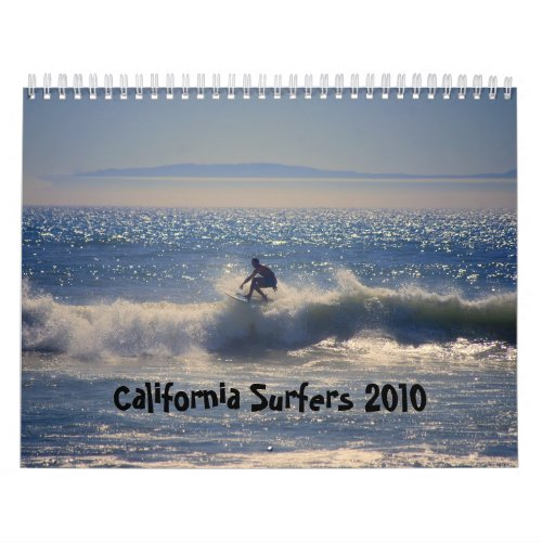 California Surfers 2010 Calendar calendar