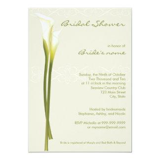 Rose Gold Foil Watercolor Wedding Invitations