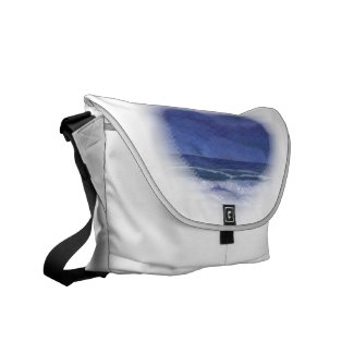 Calm Nights at Sea - Love of the Sea Messenger Bag rickshawmessengerbag