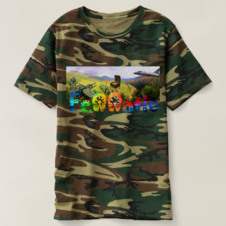 Camo Fennatic Rainbow Treasure Hunter T-shirt