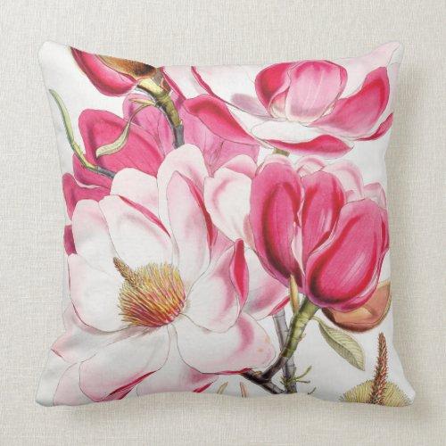 Campbell's Magnolia Throw Pillow