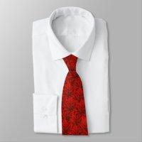 Canada Souvenir Tie Fun Red Canada Maple Leaf Tie | Zazzle.com