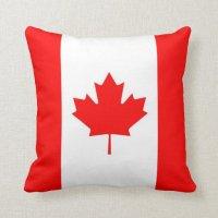 CANADA THROW PILLOW | Zazzle