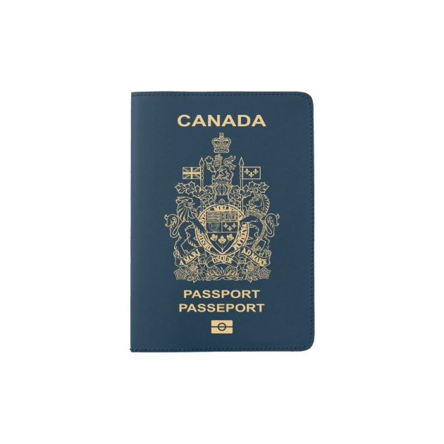 Canadian Passport Cover Zazzle Com