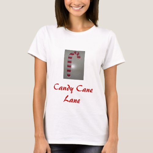 Candy Cane Lane shirt