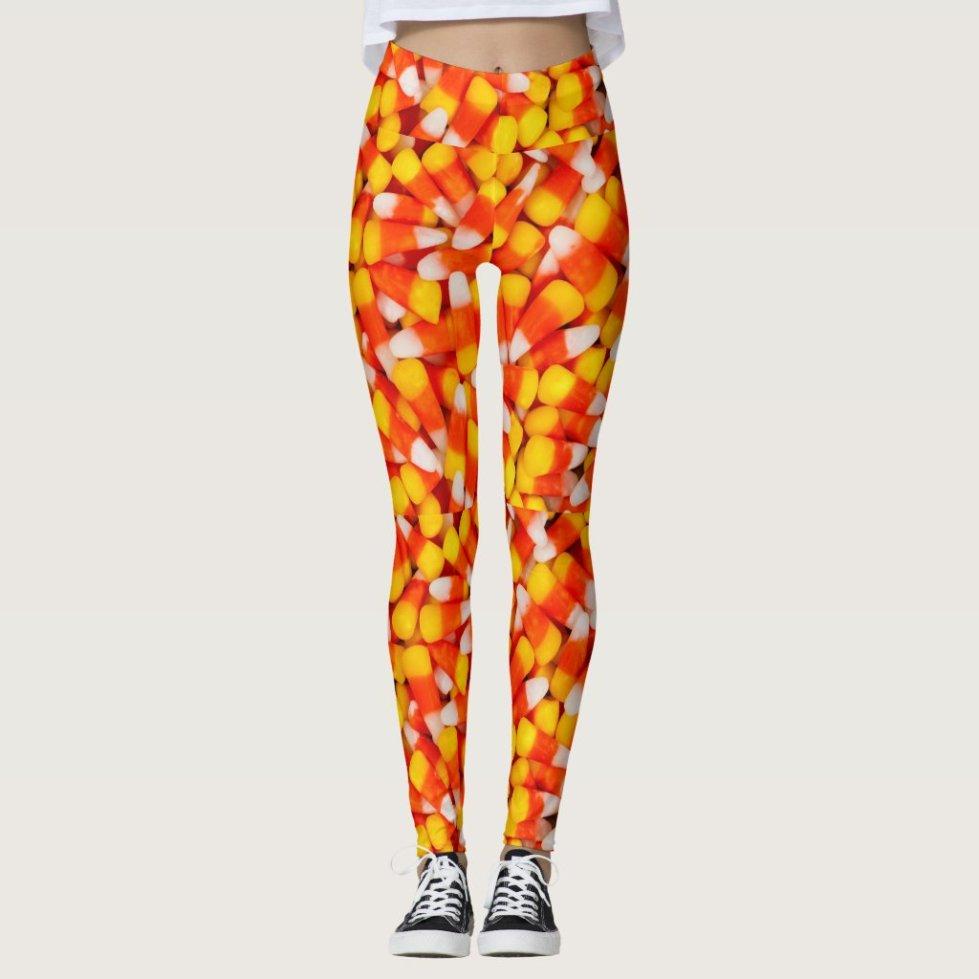 Candy Corn Leggings