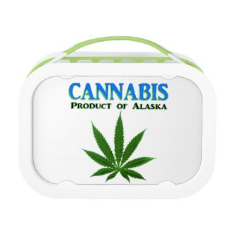 Cannabis Stashbox, Green Replacement Plate