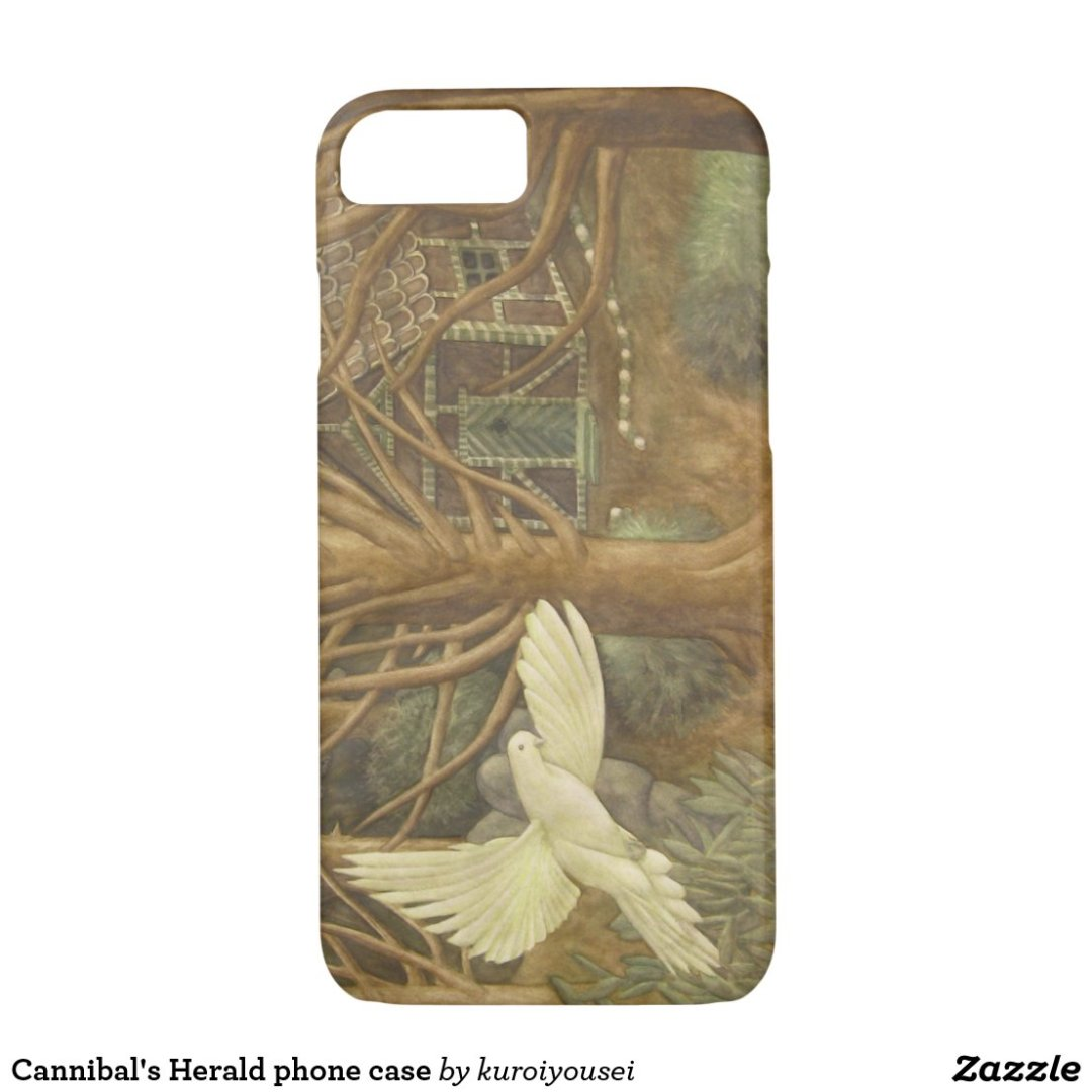 Cannibal's Herald phone case