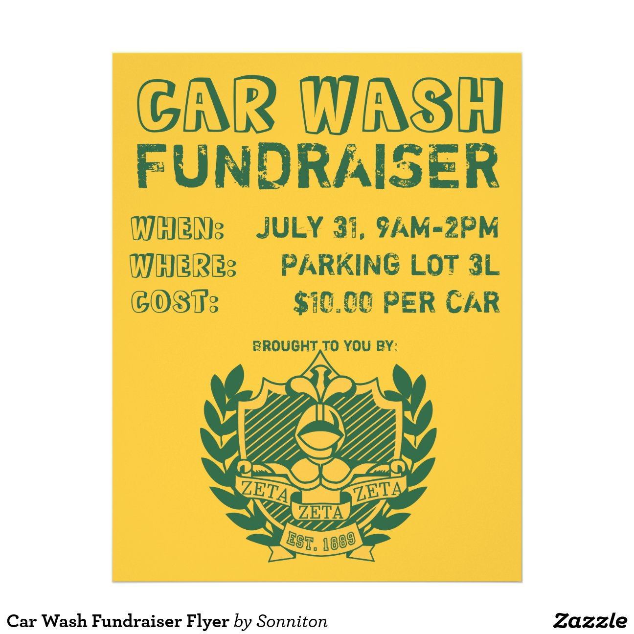 20 Detroit Mi Car Wash Fundraiser Flyer Template Pictures And Ideas