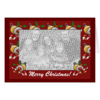 Card Template - Christmas Border