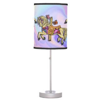 Carousel Table & Pendant Lamps