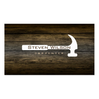Woodworking Tools Business Cards and Business Card Templates | Zazzle