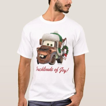 Cars   Mater In Winter Gear T-Shirt