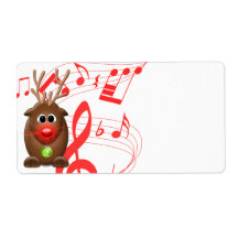 blank christmas labels zazzle