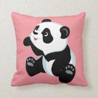 Panda For Kids Pillows - Decorative & Throw Pillows | Zazzle