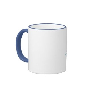 Cartoon Seacow and Dolphin Mug mug