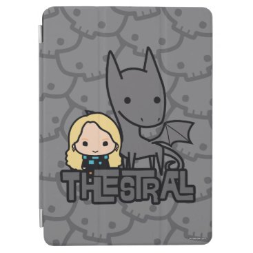 Cartoon Thestral and Luna Character Art iPad Air Cover