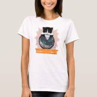 Cat and Fishbowl T-Shirt