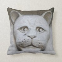 Cat Face Pillows - Decorative & Throw Pillows | Zazzle