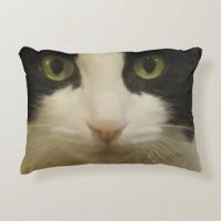 cat face pillow | Zazzle