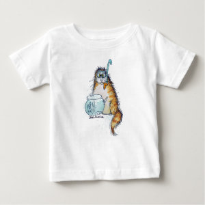 Cat Fishing Infant T-shirt