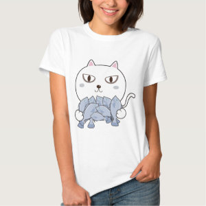 Cat Hug Fish Shirt