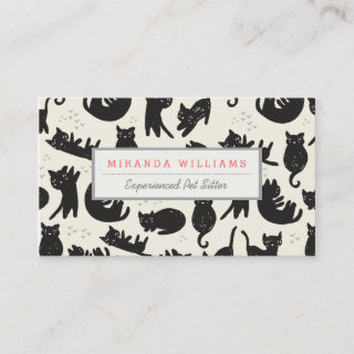 Cat Lady Business Cards