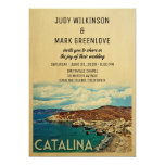 Catalina Island Wedding Invitation Vintage