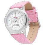 ❤️ Pretty Pink Caticorn Watch