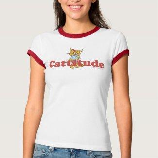 Cattitude shirt