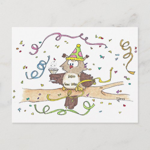 CELEBRATION postcard by Nicole Janes