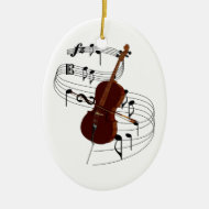 Cello Ornament
