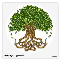 Celtic Tree of Life Wall Decal | Zazzle