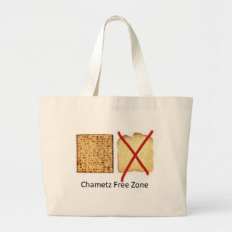 Chametz Free Zone Canvas Bags