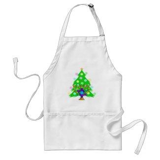 Chanukkah and Christmas apron