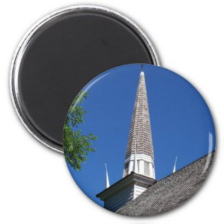 Chapel Steeple Magnet magnet