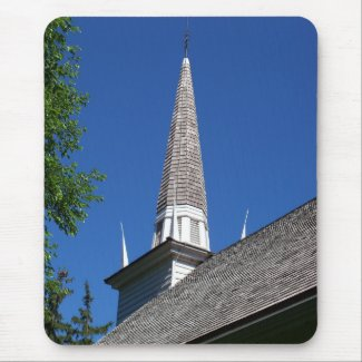 Chapel Steeple Mousepad mousepad