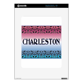 Charleston Iron Scroll Decal For iPad