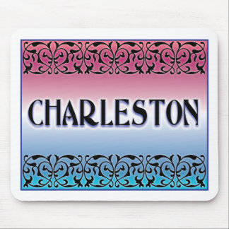 Charleston Iron Scroll Mouse Pad