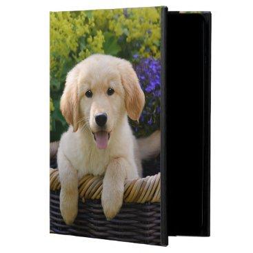 Charming Goldie Dog Cute Puppy, hard iPad Air Case