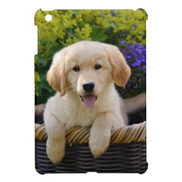 Charming Goldie Dog Puppy, tablet cover iPad Mini Case