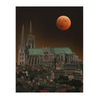 Notre Dame Cathedral Wood Wall Art | Zazzle