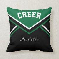 Dark Green Pillows - Decorative & Throw Pillows | Zazzle