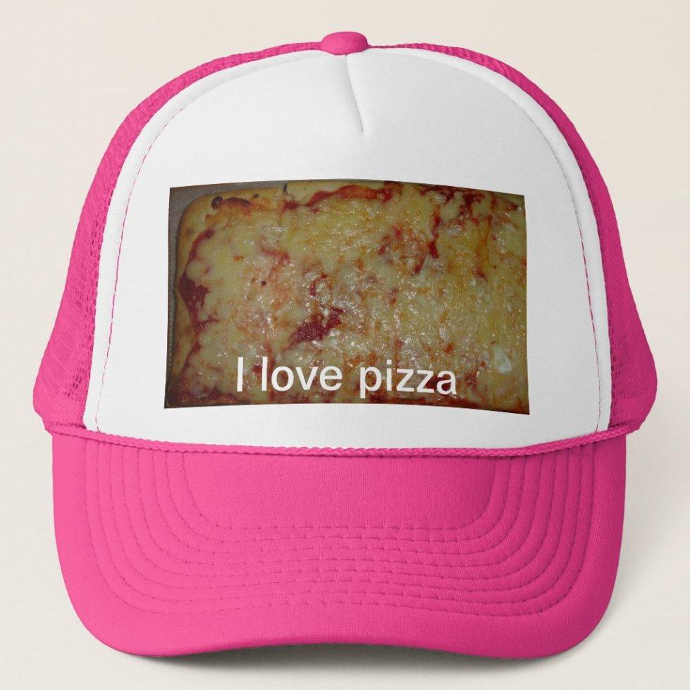 Cheese Pizza Trucker Hat