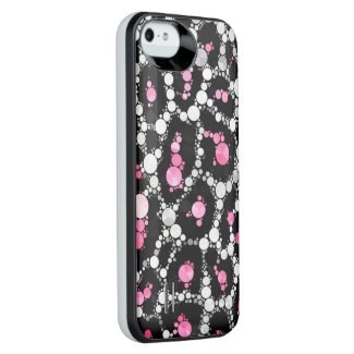 Cheetah Bling iPhone5/5s Battery Cases Uncommon Power Gallery™ iPhone 5 Battery Case