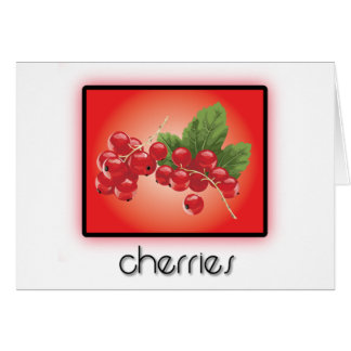 Cherries Cards